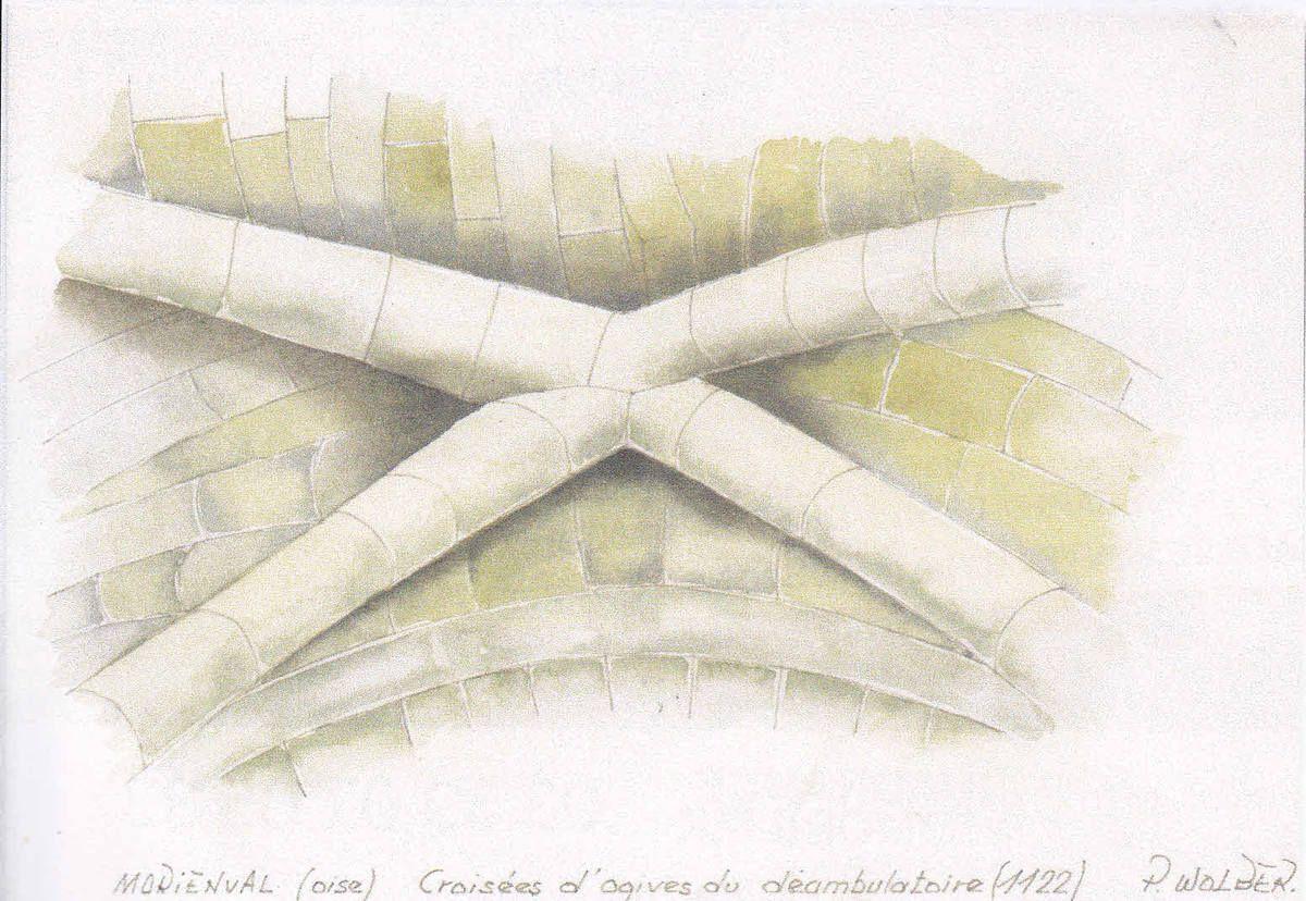 croisée d'ogives (Morienval)