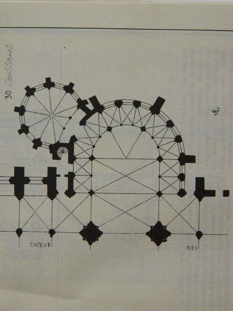 Plan du Transept Sud (détail)