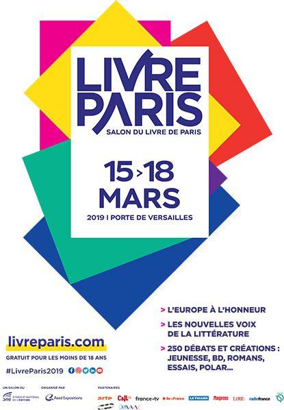 AFFICHE LIVRE PARIS 2019