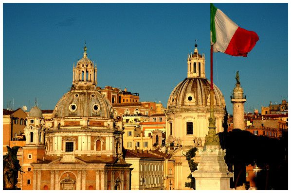 rome capitale italie