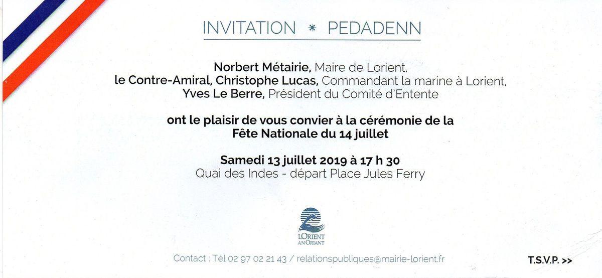 FÊTE NATIONAL 2019