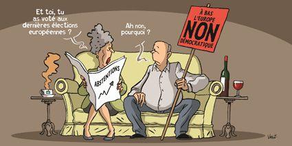 Européennes : Partout la démocratie bafouée
