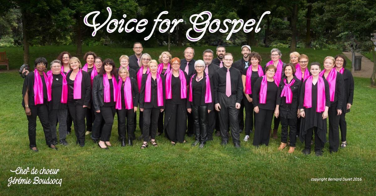 Concert de clôture avec Voice for Gospel le dimanche 26 août