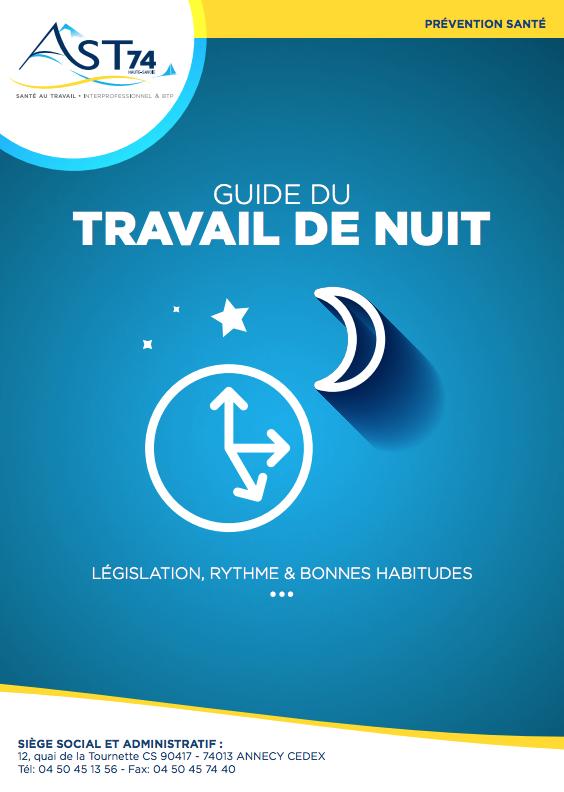 Guide du travail de nuit - Santé au travail