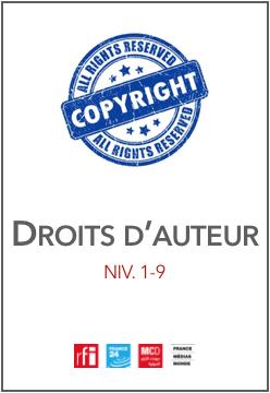 Accord cession des droits d'auteur pour les exploitations secondaires - Journalistes