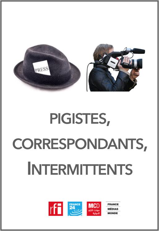 NAO Pigistes intermittents correspondants - France Médias Monde FMM