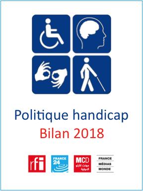 Bilan politique Handicap 2018 - France Médias Monde