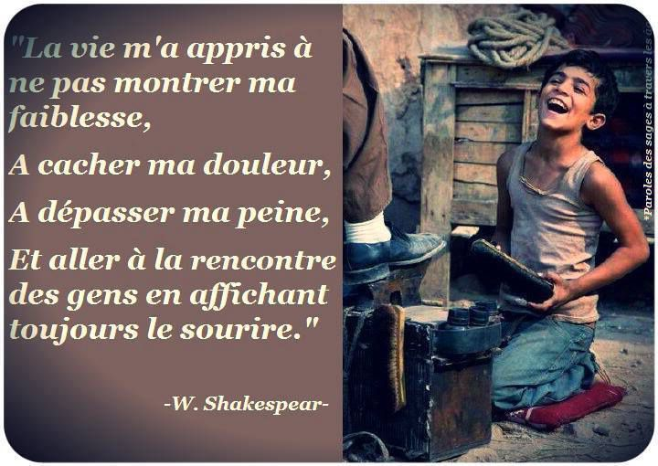 William Shakespeare - 14 Citations - La vache rose