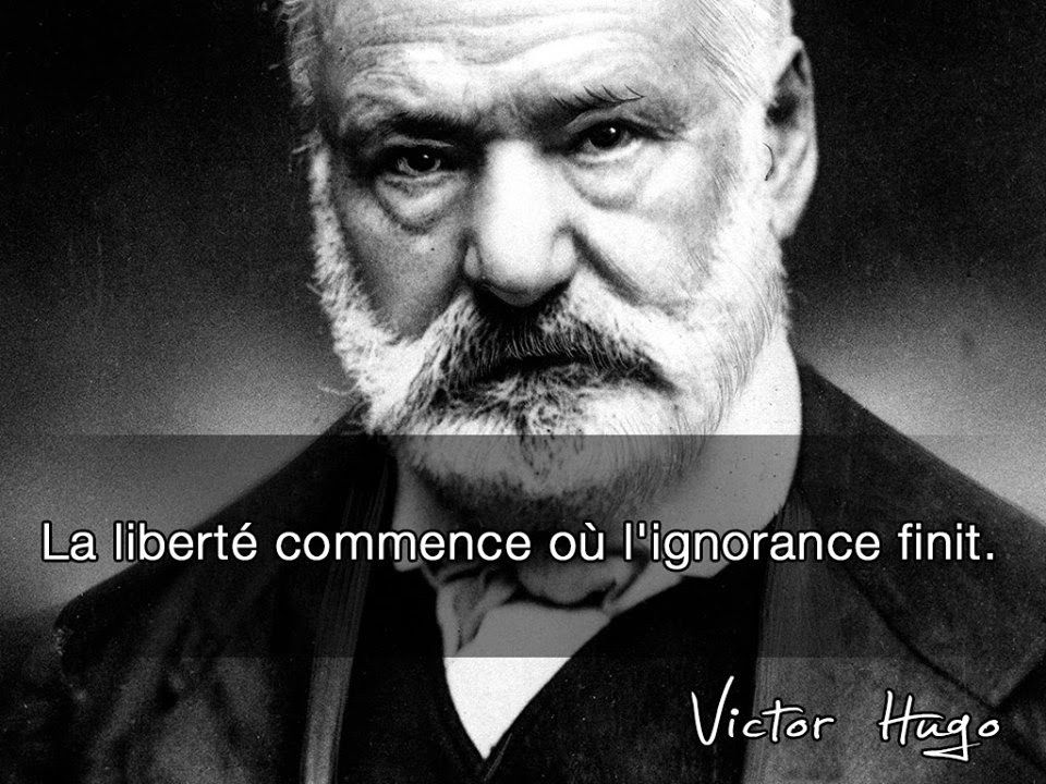 Victor Hugo - 72 Citations et 2 poèmes - La vache rose