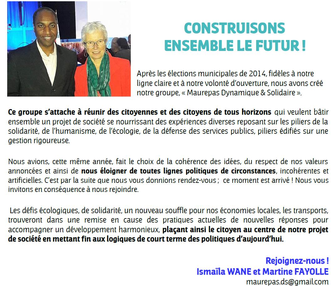 Construisons ensemble le futur !