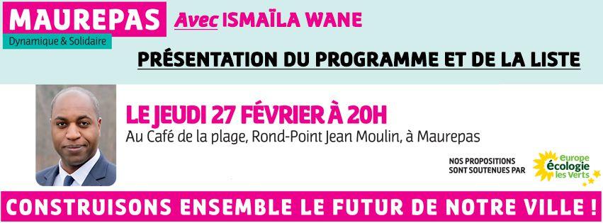 Café de la Plage : 27 février 2020, présentation du programme et de la liste