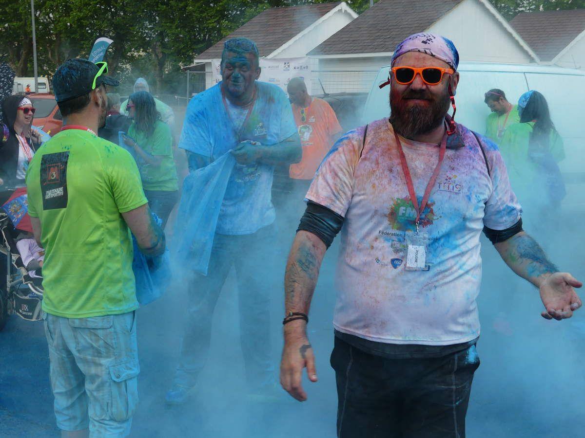 1000 personnes à la Color Run de la FMS