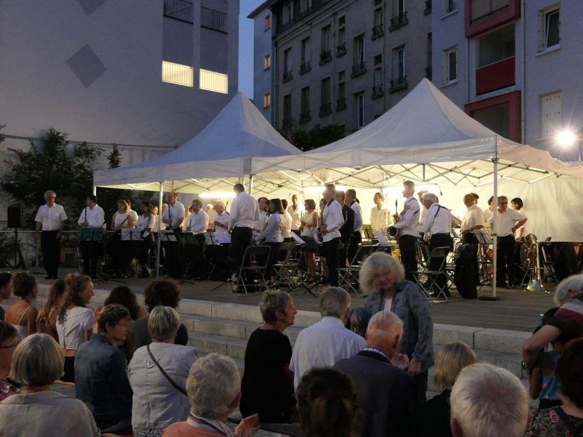 L'Orchestre d'Harmonie en représentation pour la fête nationale