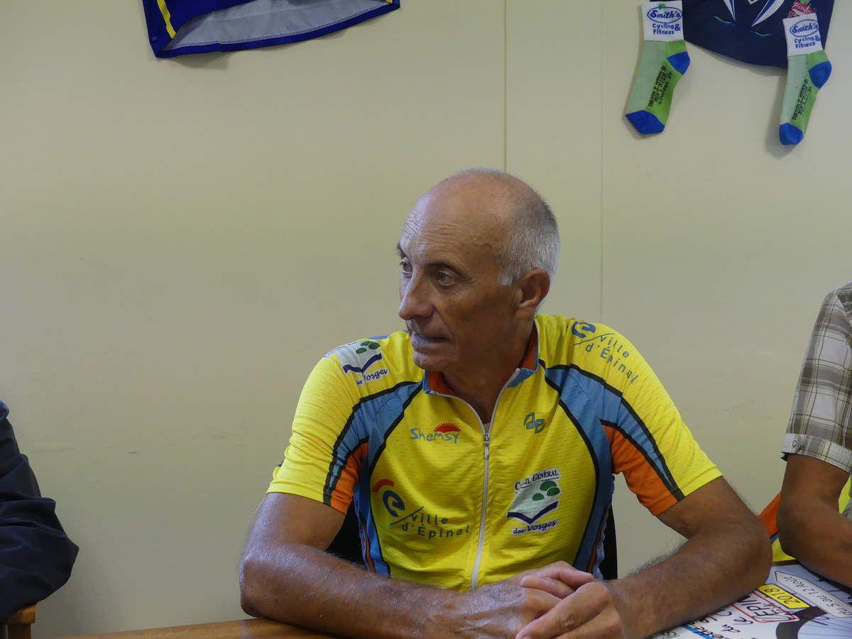 Le Vice Président de Velocio Michel Carteret