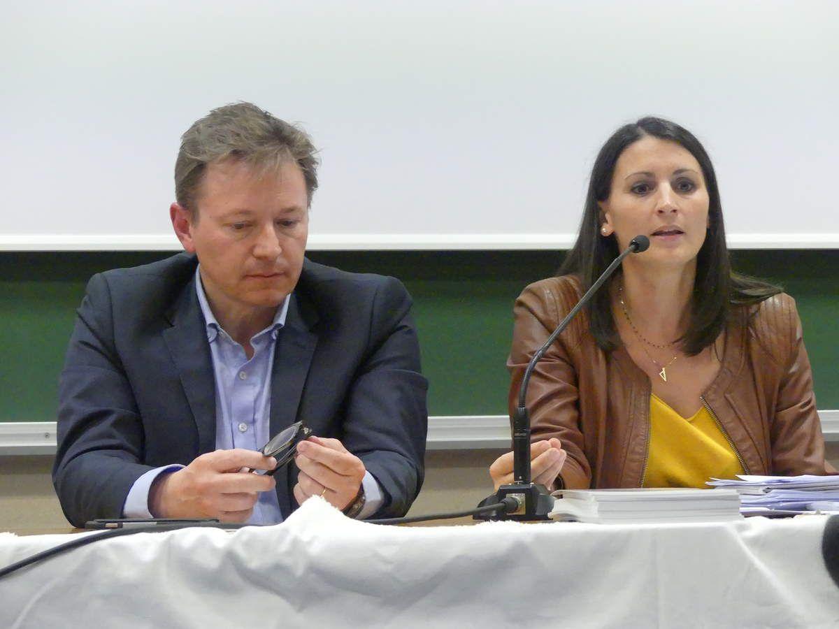 Les avocats  Julien  Fouray et Catherine Faivre de Link Action