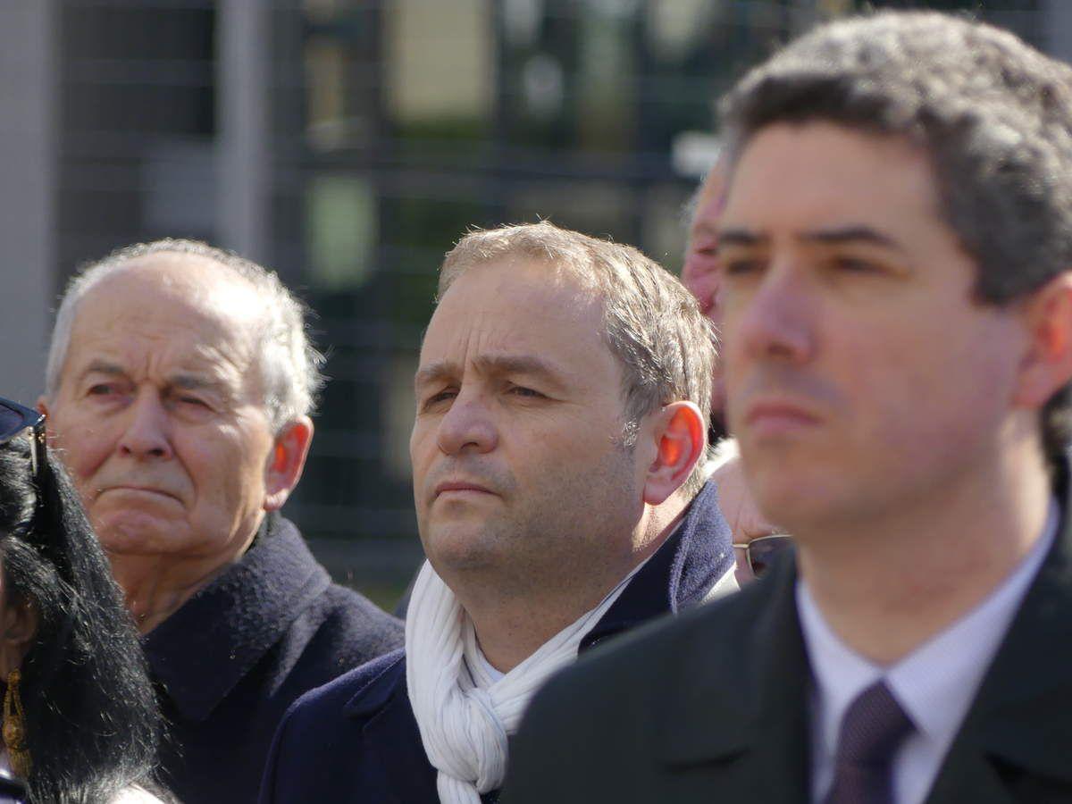 Christophe Petit, au centre toute