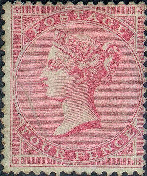 Grande Bretagne Queen carmine