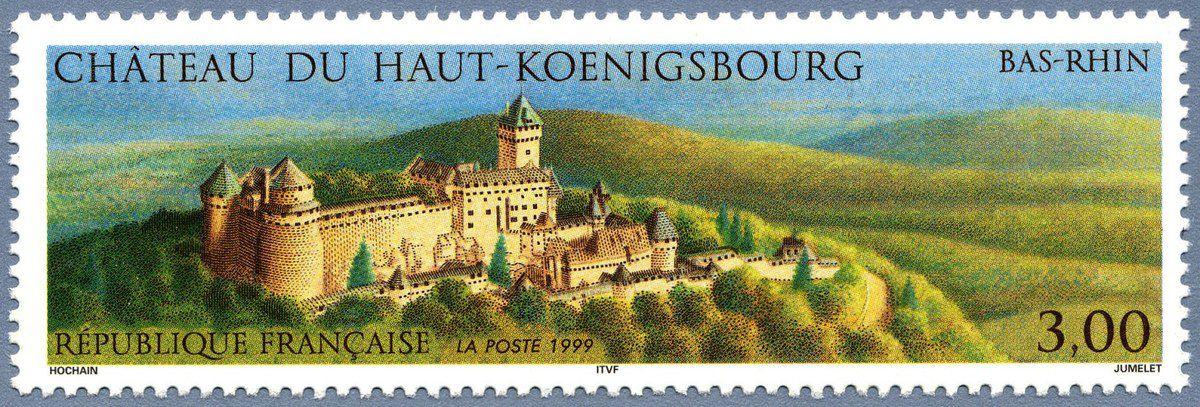 Châteaux-forts en Alsace