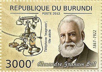 Alexander Graham Bell a inventé le premier téléphone en 1876