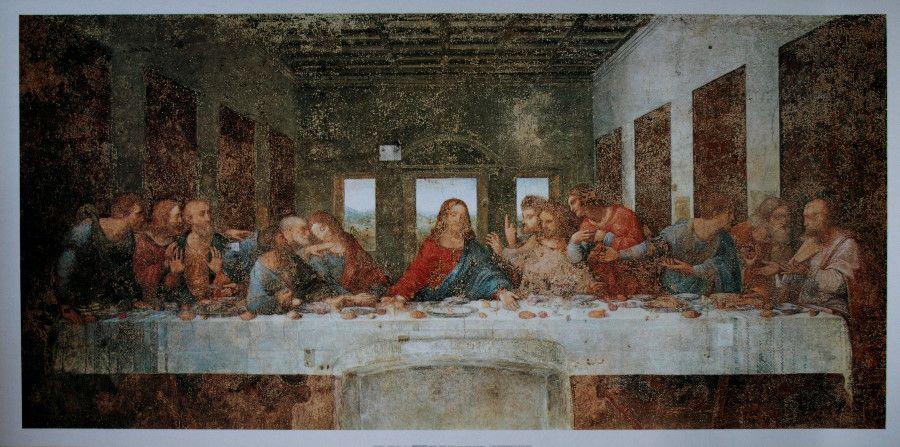 """La """"Cène"""" de Léonardo Da Vinci"""