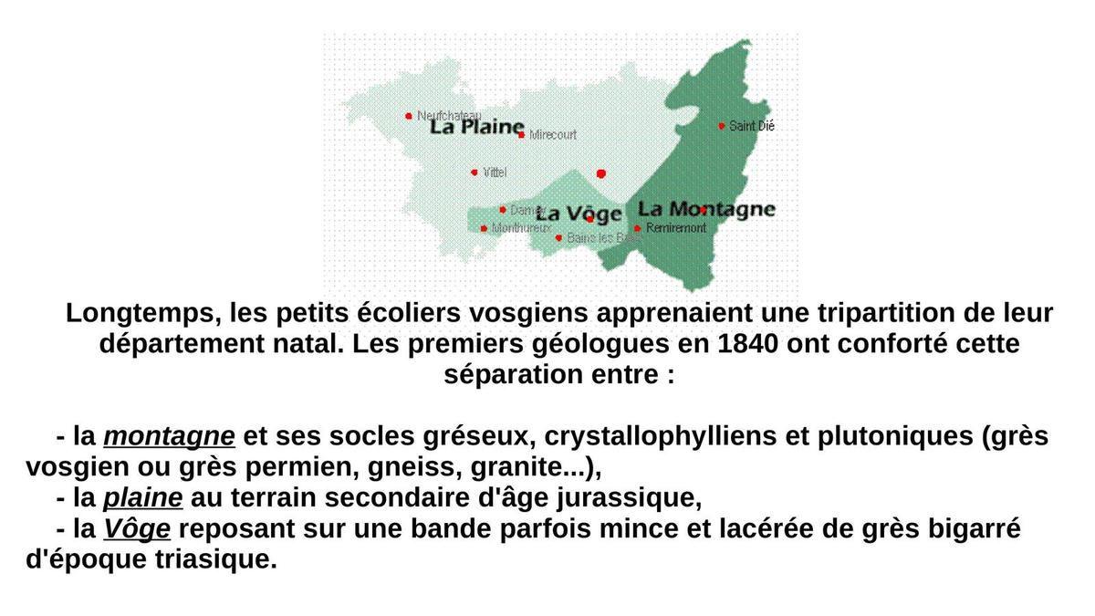 Les Vosges en philatélie