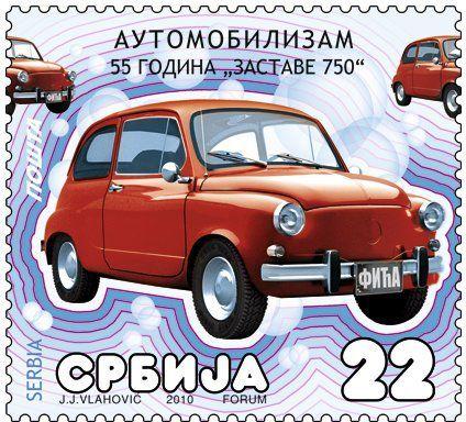 présentée sur le marché yougoslave en 1955, sous le nom de Zastava 750, elle était strictement identique à la Fiat 600-D. Elle restera en fabrication jusqu'au 4 avril 2000, après une évolution en Z-850.