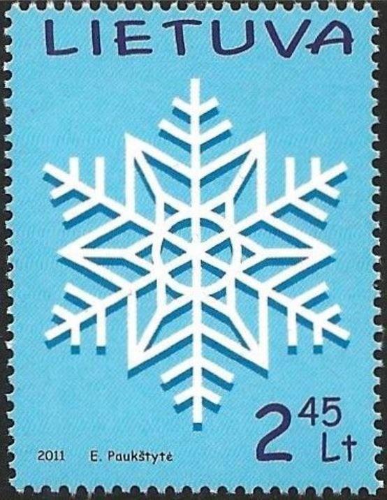 Les cristaux de neige