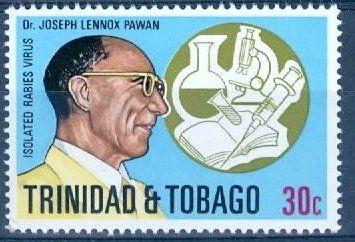 Joseph Lennox Donation Pawan MBE (6 septembre 1887 - 3 novembre 1957) était un bactériologiste trinidadien qui fut la première personne à montrer que la rage pouvait se propager par les chauves-souris vampires à d'autres animaux et humains.