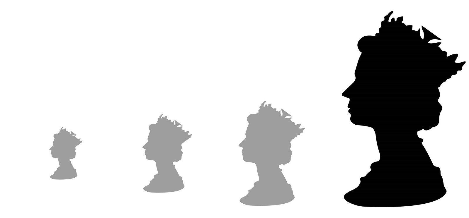 Les portraits silhouettes