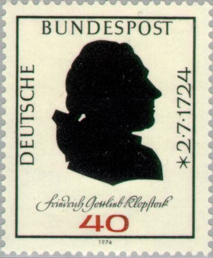 Friedrich Gottlieb Klopstock, poète allemand