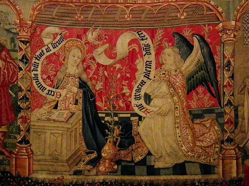Tapisserie de la Vierge : Notre-Dame de Beaune