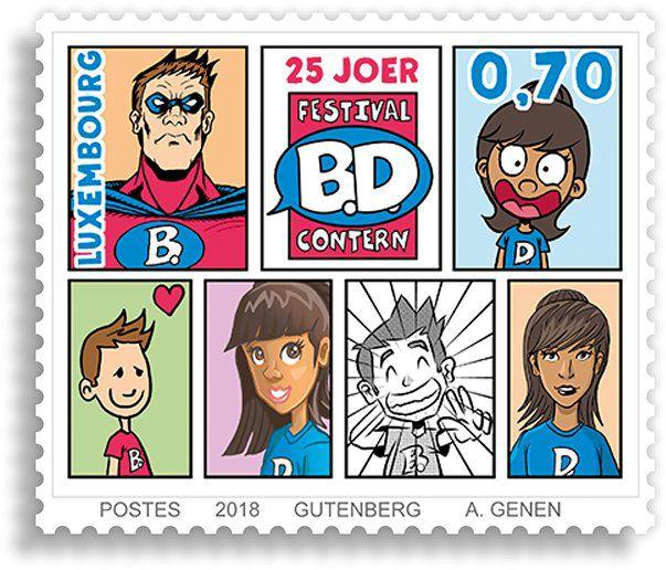 25 ans du Festival International de la Bande Dessinée à Contern LUXEMBOURG