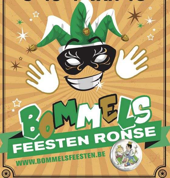 Bommels de RONSE-RENAIX (Belgique)