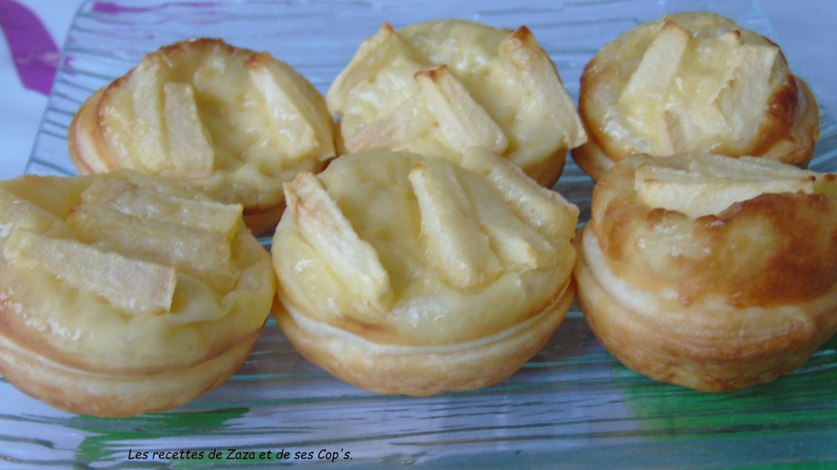 Minis Tartelettes à la pomme