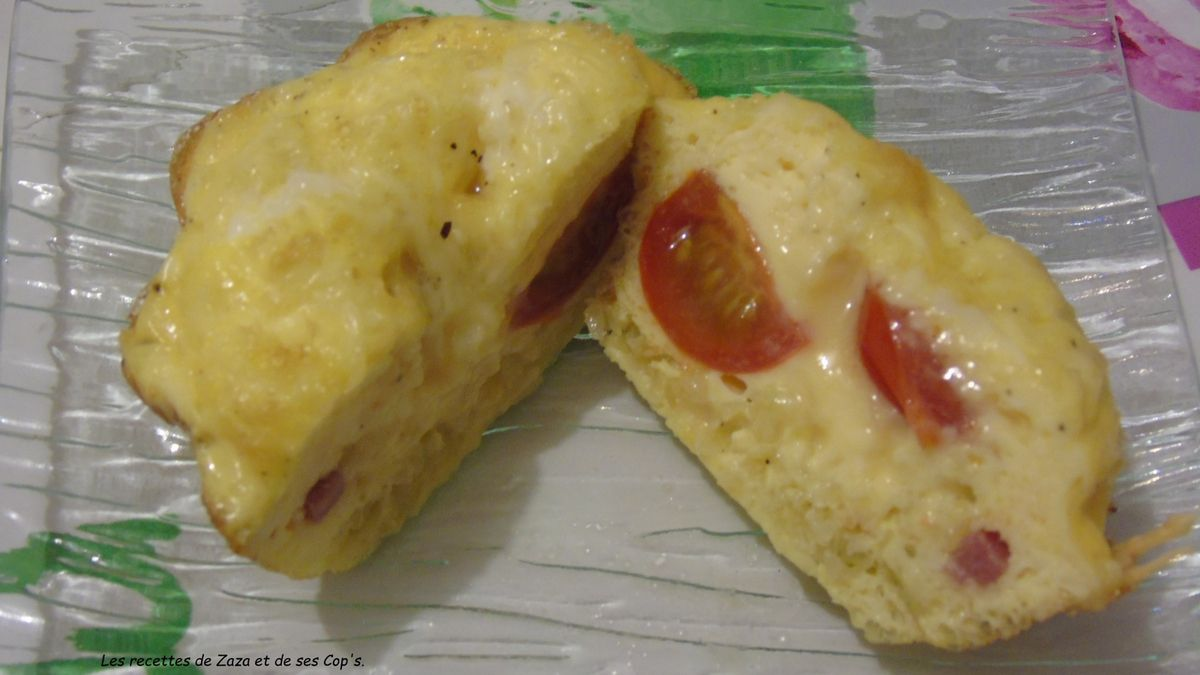 """""""Omelette"""" façon cake"""