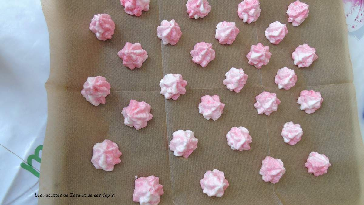 Meringues Octobre Rose