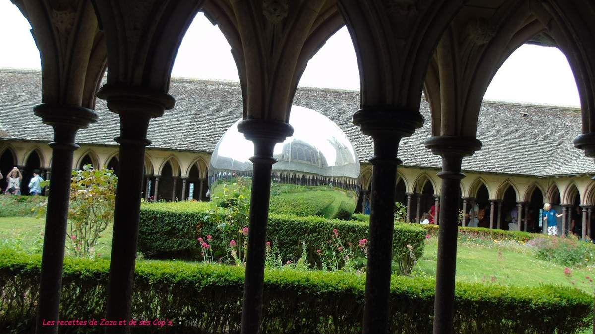 En route pour visiter l'Abbaye du Mont Saint Michel