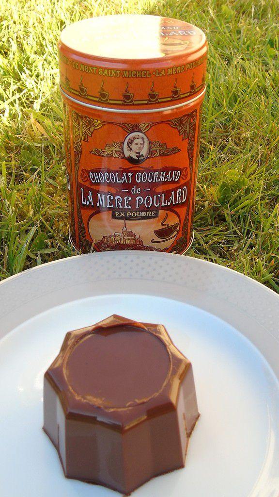"""Flamby"" au chocolat gourmand de la Mère Poulard"