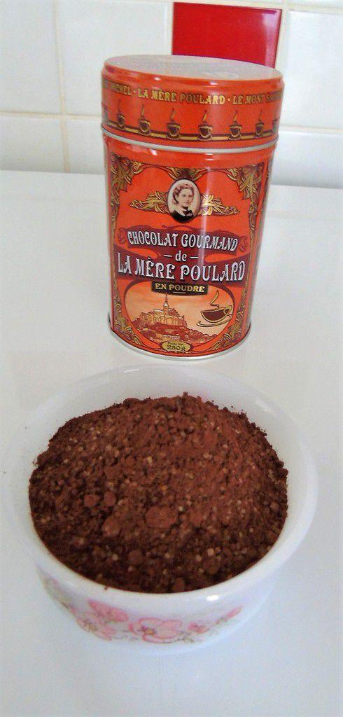 Glace au chocolat gourmand de la Mère Poulard