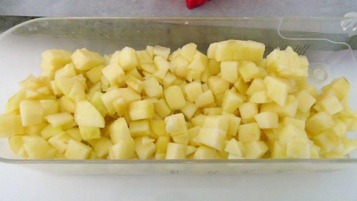 Coeur moelleux aux pommes