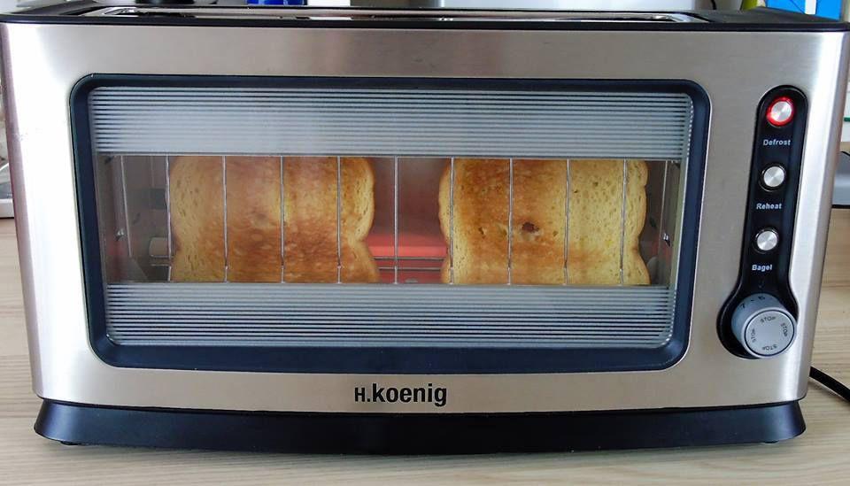 Test du Grille pain VIEW6 de chez H.KOENIG