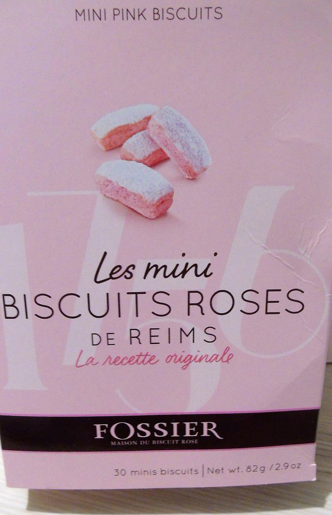 Mini Charlottes au chocolat et biscuits roses de Reims