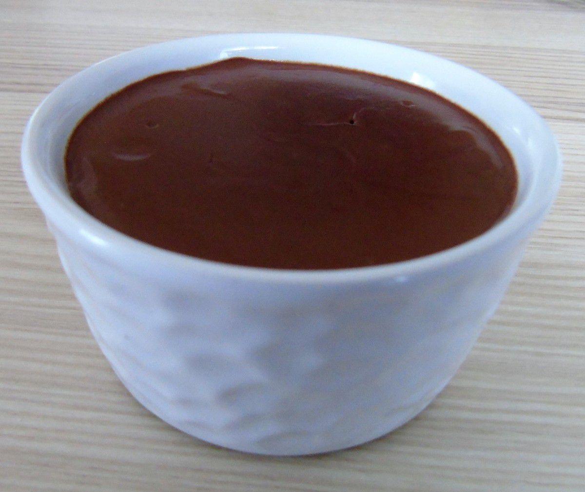 """Crème dessert façon """"Danette"""" mais en bien meilleur !! réalisée au Cook Expert"""