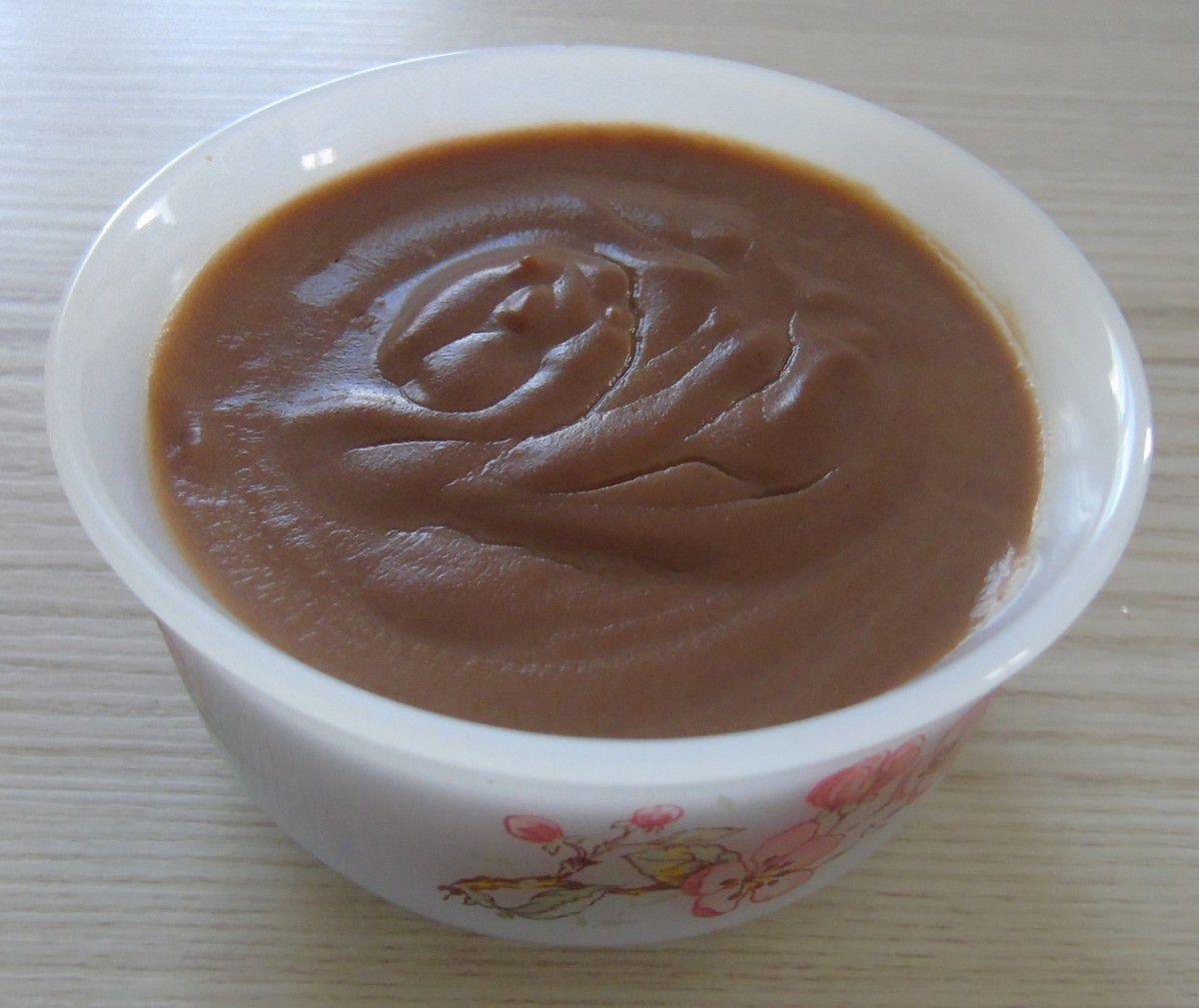 Crème dessert à la pralinoise réalisée au Cook Expert