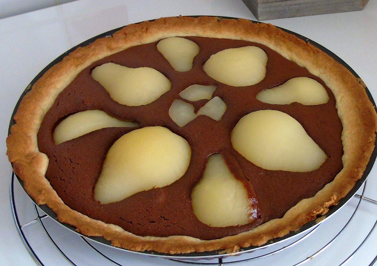 Tarte Amandine Poires Chocolat réalisée au Cook Expert lors de ma seconde Démo en tant que Demoozeur