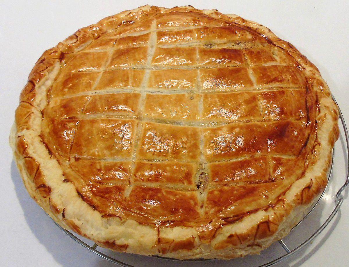 Galette crème d'amandes au rhum et orange