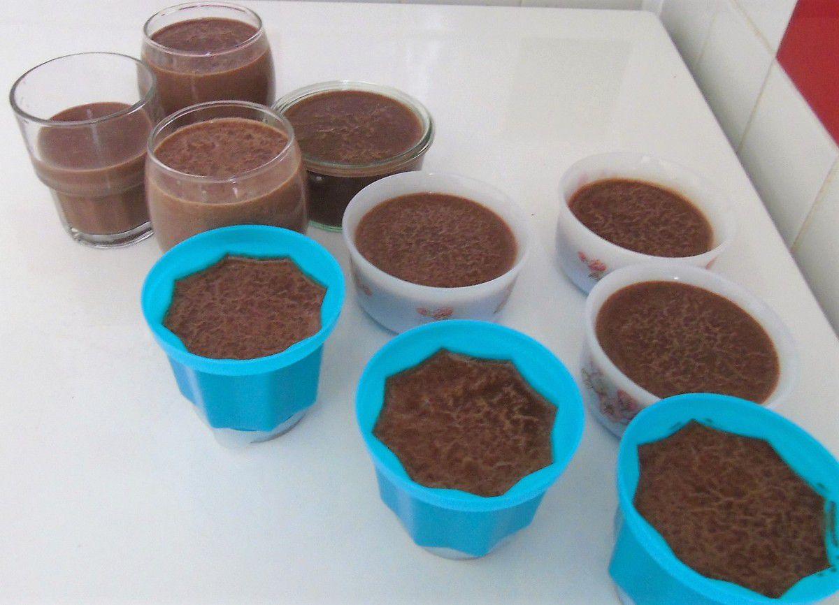 Semoule chocolatée réalisée au Cook Expert