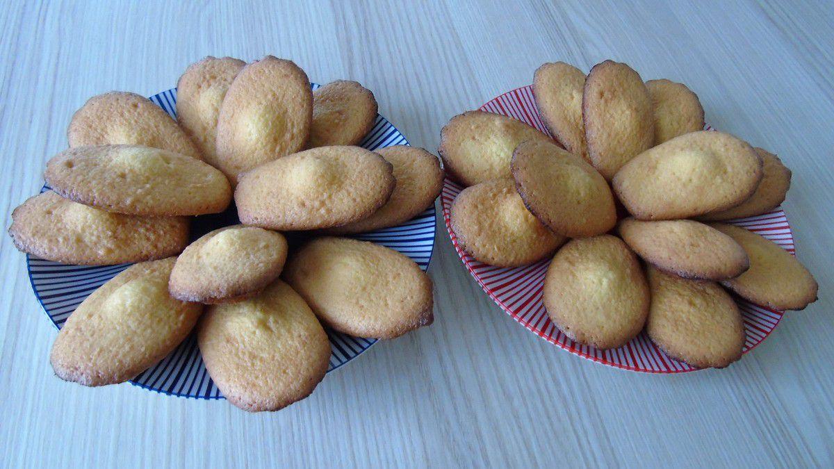 Madeleines aromatisées à la noix de coco