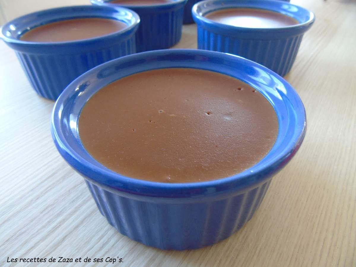 Crèmes au chocolat ultra gourmandes