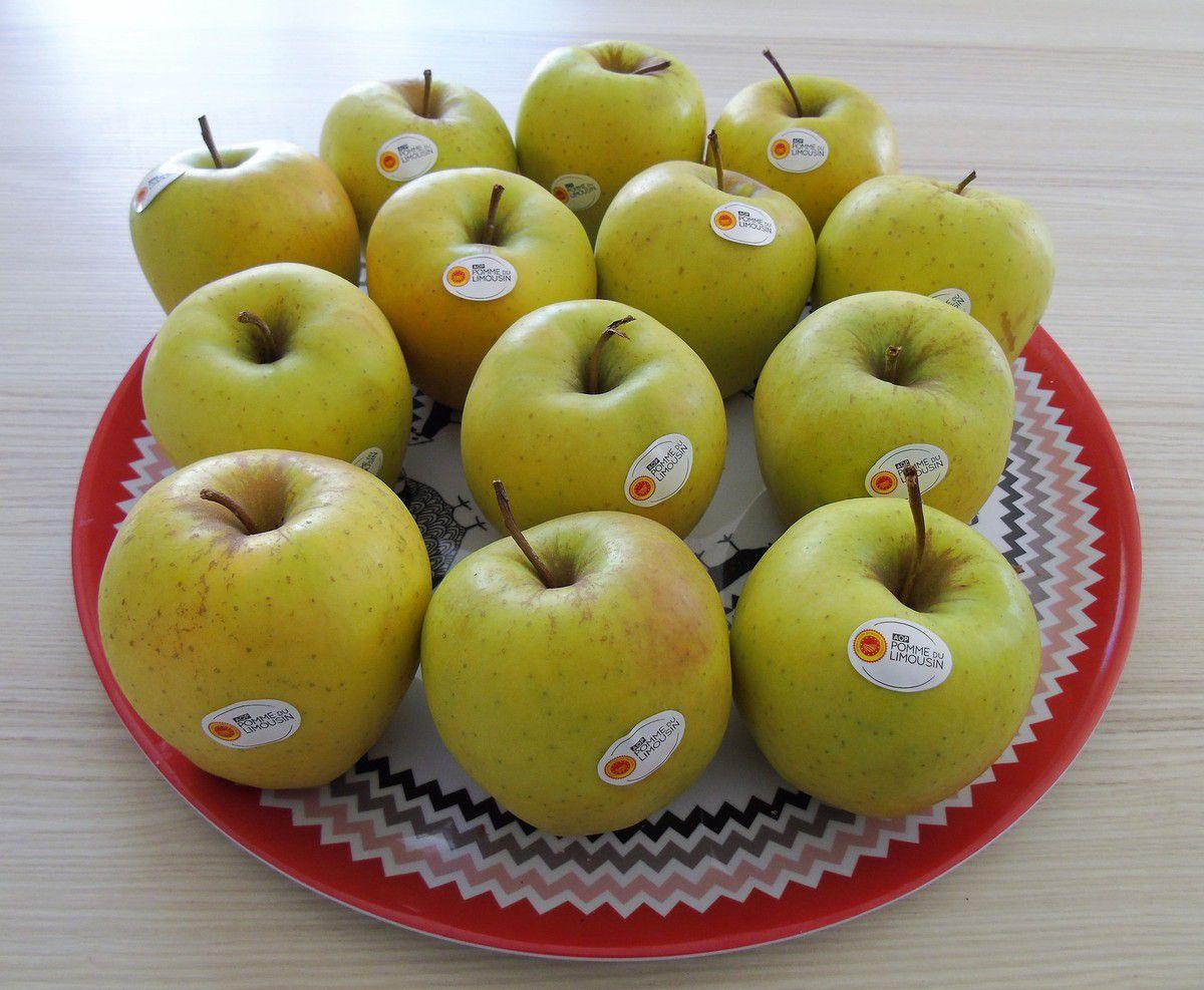 Partenariat AOP Pomme du Limousin